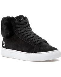 Date - Newman High Sneaker Black - Lyst