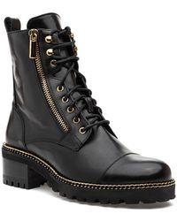 275 Central Maker Boot Black Leather