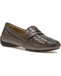 Robert Zur - Petra Loafer Bronze Leather - Lyst