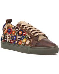 Sheridan Mia Satyr Sneaker Brown Leather