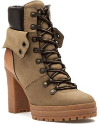 c869b0a9e241 Paul Smith Eileen Leather Ankle Boots in Brown - Lyst