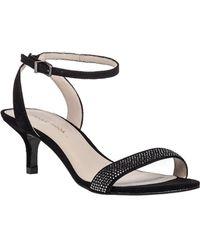 Pelle Moda   Fabia 2 Embellished Suede Sandals   Lyst