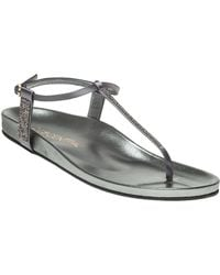 275 Central - Asia Satin Sandals - Lyst