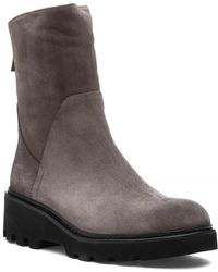 275 Central - 17865 Boot Taupe Suede - Lyst