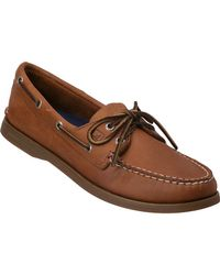 Sperry Top-Sider   Authentic Original 2 Eye Sahara Tan Leather   Lyst