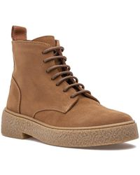 275 Central Carrie Boot Brandy Suede - Brown