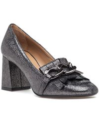 32a5c696a648 Lyst - Gucci Black Patent Leather T-Strap  Beverly  Pumps in Black