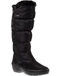 Pajar | Amanda Snow Boot Black Fabric | Lyst