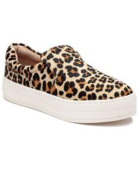J/Slides Harry Sneaker Leopard Pony Hair - Multicolor