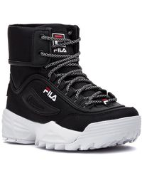 Fila Disrupter Ballistic Sneaker Black
