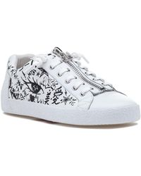 Ash | Nova Sneaker White/black Leather | Lyst
