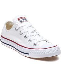 170b89e70847e0 Lyst - Converse Chuck Taylor All Star Ox Denim Slip On Sneaker in Blue