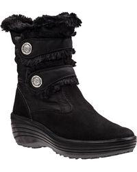 Pajar - Caroline Snow Boot Black Fabric - Lyst