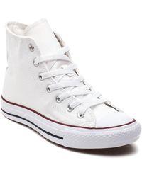 Converse - Chuck Taylor All-star Hi-top Sneaker Optical White - Lyst