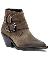 275 Central H3 Buckle Boot Taupe Suede - Brown
