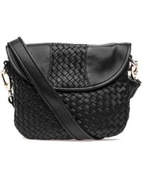 Robert Zur | Nola Crossbody Black Leather | Lyst