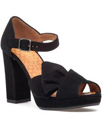 Chie Mihara Bambole Sandal Black Suede