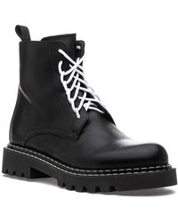275 Central Tristan Boot Black Leather