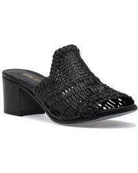 275 Central - 1722 Sandal Black Leather - Lyst