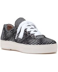 Stuart Weitzman Gaming Sneaker Black/white