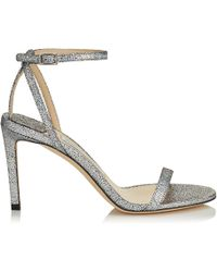 a9d014acf3d6 Jimmy Choo Abel Patent Leather Disco Hologram Pumps in Metallic - Lyst