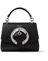 Jimmy Choo Madeline Top Handle Bag - Black