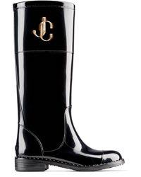 Jimmy Choo Edith Jc Rain Boot - Black