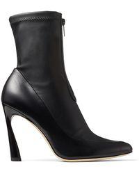 Jimmy Choo Brandon 85 Boots - Black