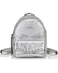 Jimmy Choo Cassie Backpack - Metallic