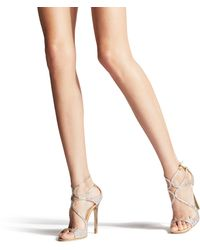 Jimmy Choo 'ivette' Sandals - Metallic