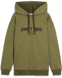 Jimmy Choo Jc College-Hoodie - Grün