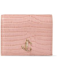 Jimmy Choo Hanne Brieftasche - Pink