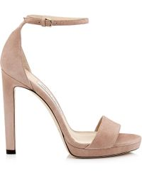 Jimmy Choo Misty 120 Court Shoes - Pink