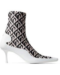 Jimmy Choo - Jc X Ms Sock Ankle Boot - Lyst