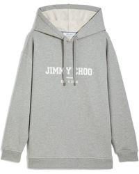 Jimmy Choo Jc College-hoodie - グレー