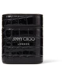 Jimmy Choo Airpods Case - ブラック