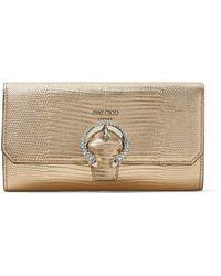 Jimmy Choo Wallet W/chain - マルチカラー