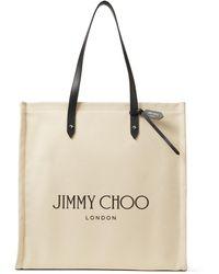 Jimmy Choo Logo Tote - マルチカラー