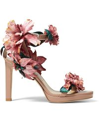 Jimmy Choo Blossom In Your Choos - ピンク