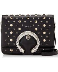 Jimmy Choo Madeline Shoulder Bag/s - Black