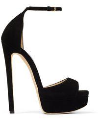 Jimmy Choo Max 150mm Platform Sandals - Black