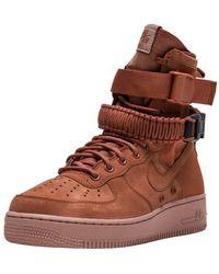 Nike Sf Air Force 1 - Brown