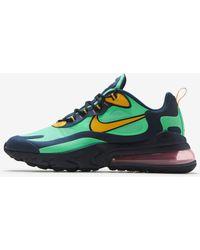 Nike Air Max 270 React Sneakers - Green
