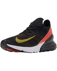 Nike Air Max 270 Flyknit Gymnastics Shoes - Black