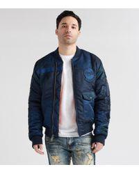 Schott Nyc - Embellished Patchwork Ma1 Jacket - Lyst
