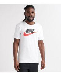 211b4896 Nike Futura Box Logo T-shirt - White in White for Men - Lyst