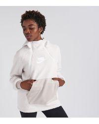 Nike - Sherpa Pullover Hoodie - Lyst