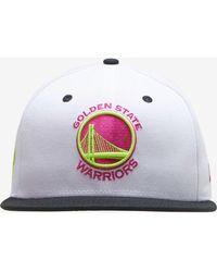 607ee9cbd KTZ Golden State Warriors Black-top Bucket Hat in Blue for Men - Lyst