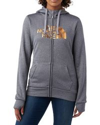 The North Face - W Fave Half Dome Full Zip 2.0 - Lyst