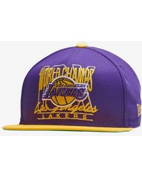 4e1973cac85520 KTZ Core Classic Los Angeles Lakers in Purple for Men - Lyst